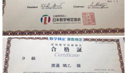 【成績UP!】渡邉祐さん・璃乙さん(小学校2年生で小学校3年生のレベルに合格)の算数検定合格体験